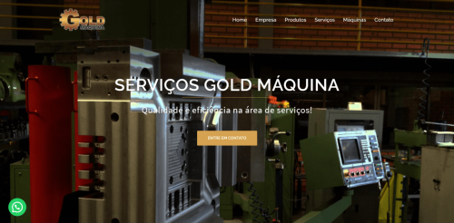 Gold Máquina – Máquinas Operatrizes